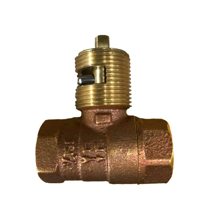 HPC High Capacity 1/4 Turn Straight Ball Valve, 3/4-Inch