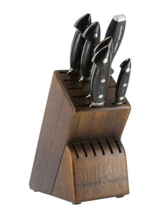 Zwilling J.A. Henckels Bob Kramer Stainless Damascus 7-pc Knife Block Set