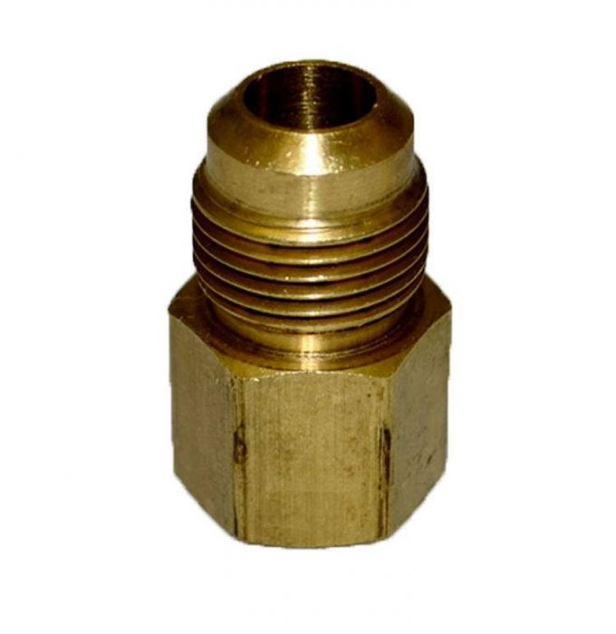 HPC Adaptor Brass Fitting, 1/2-Inch Tube, 1/2-Inch FIP