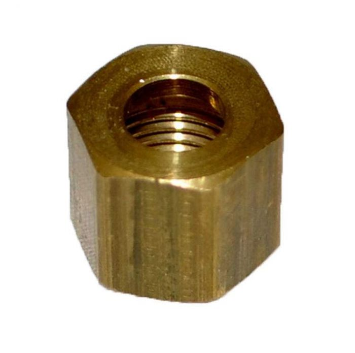 HPC Brass Compression Nut, 1/4-Inch