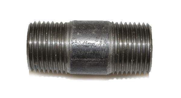 HPC Black Iron 1.5-Inch Nipple, 3/8-Inch MPT