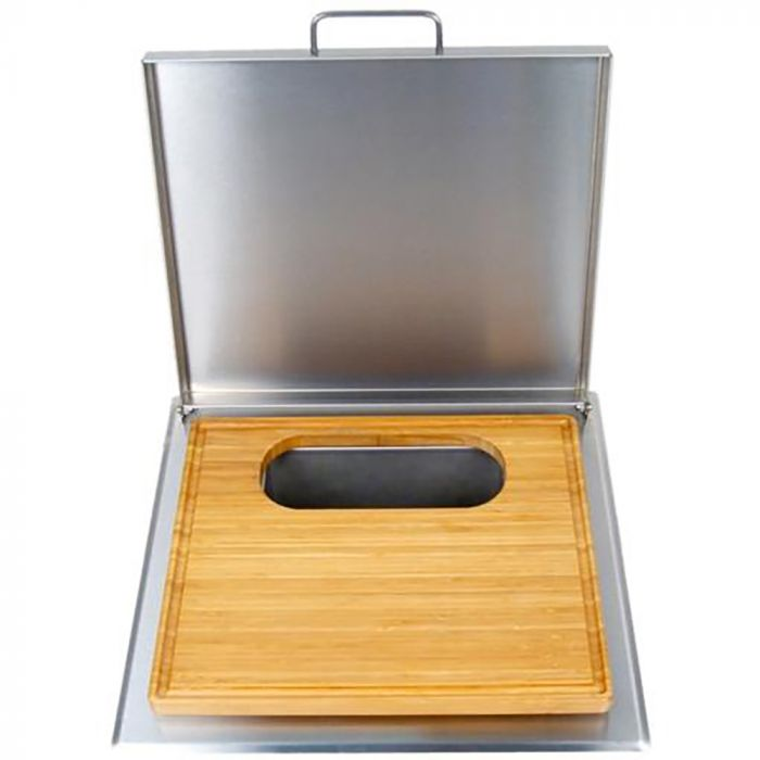Fire Magic Trash Chute with Cutting Board
