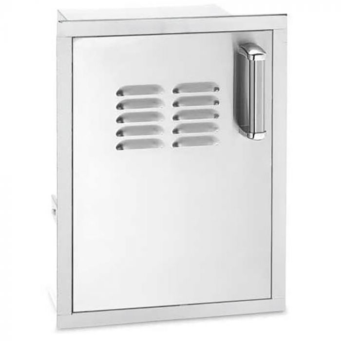 Fire Magic Premium Single Access Door with Tank Tray, Right Hinged and Flush Mounted