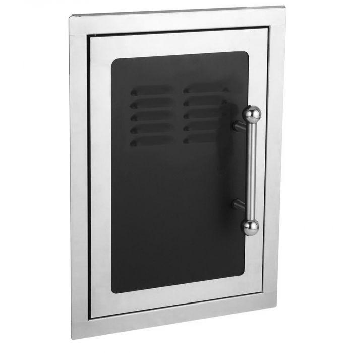 Fire Magic 53820H-TS Premium Black Diamond Single Access Door with Tank Tray