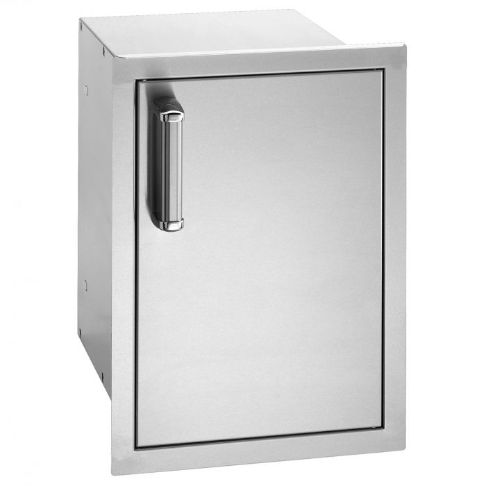 Fire Magic Premium Single Door with Dual Drawers, Right Hinged and  Flush Mounted