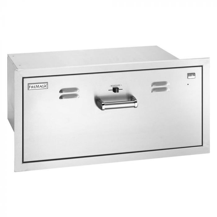 Fire Magic Premium Warming Drawer, Flush Mounted