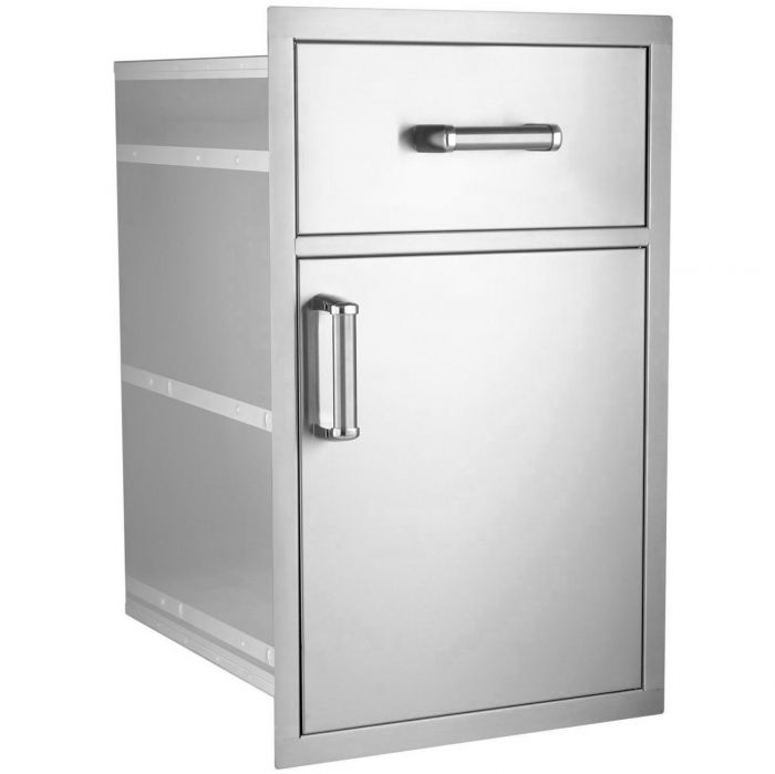 Fire Magic Premium Flush Large Pantry Door and Drawer Combo