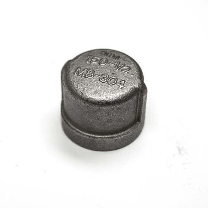 Hearth Products Controls 559 Stainless Steel Gas Line Cap, 1/2-Inch