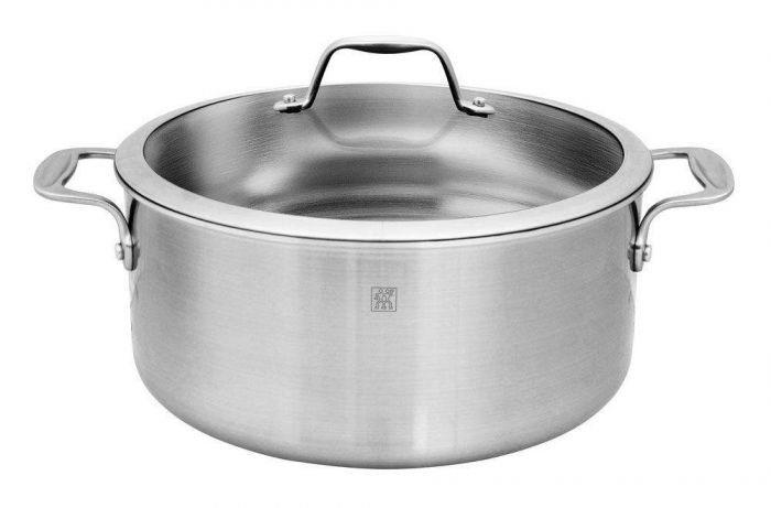 Zwilling J.A. Henckels Spirit 8-quart Stainless Steel Dutch Oven