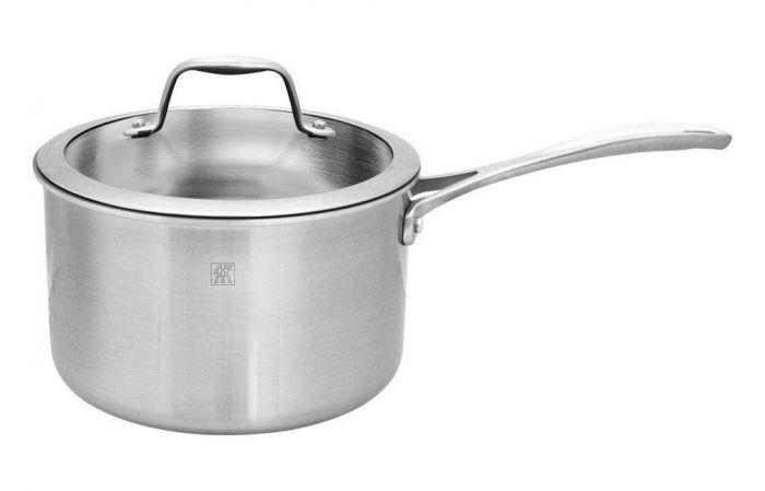 Zwilling J.A. Henckels Spirit 4-quart Stainless Steel Saucepan