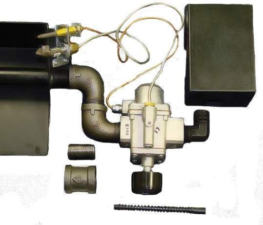 White-Rodgers Side Inlet Safety Pilot Kit, High Capacity, Natural Gas