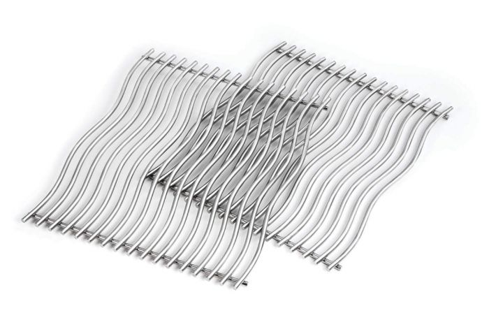 Napoleon 75500 Stainless Steel Wave Rod Cooking Grid Kit, Set of 2
