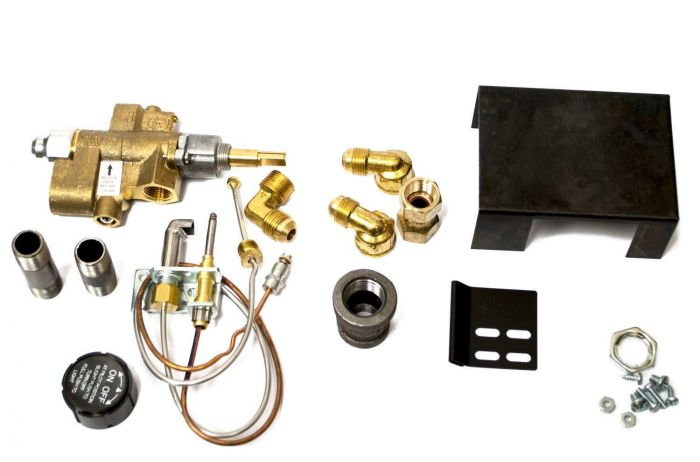 Copreci Low Profile Safety Pilot Kit with 1.5-Inch Swivel Quick Connect, Natural Gas