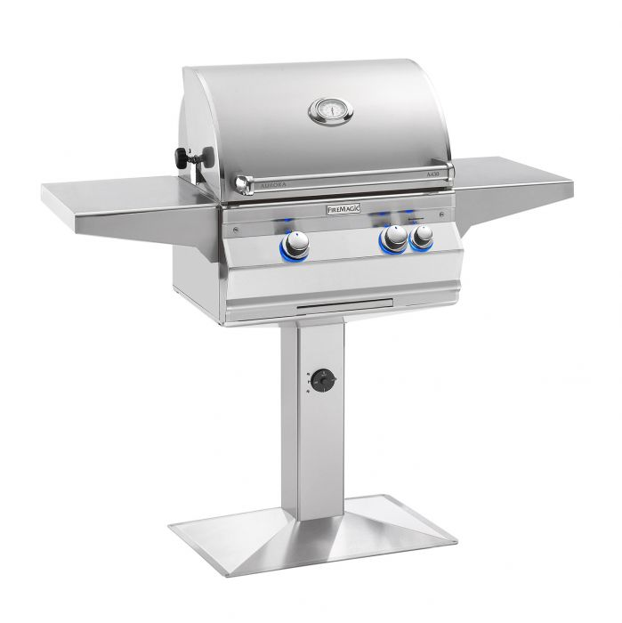 Fire Magic Aurora A430s Analog Series Gas Grill On Bolt Down Post