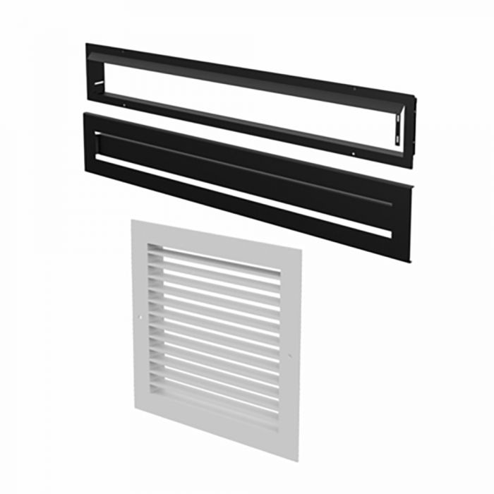 Osburn AC01378 Modern Style Warm Air Circulation Grille for Horizon Wood Fireplace