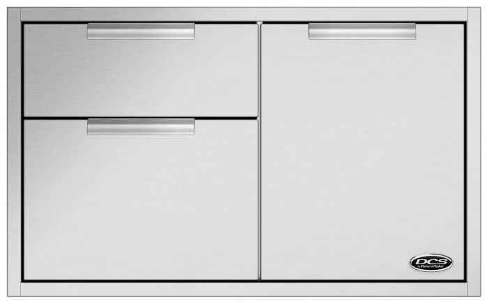DCS Double Access Drawers and Propane Tank Storage, 36-Inch