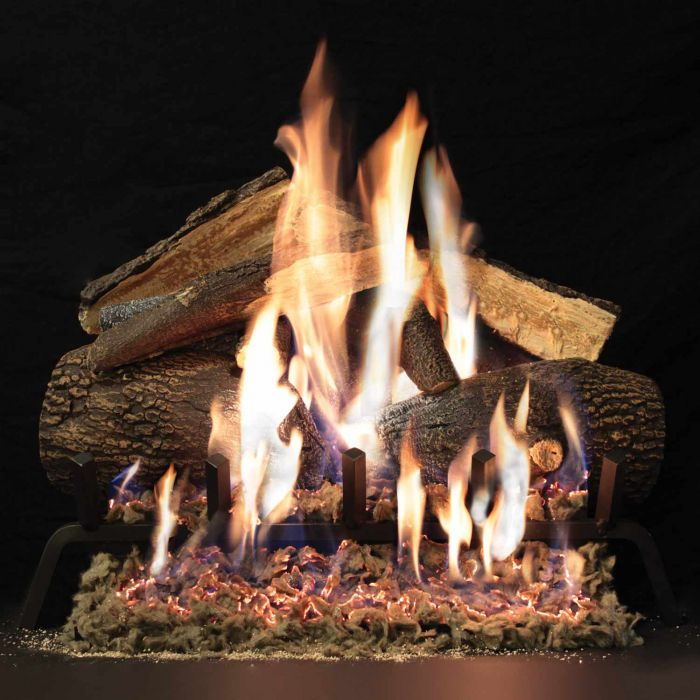 White Mountain Hearth LAxx-Kit Advantage Refractory Complete Fireplace Log Set