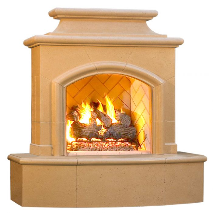 American Fyre Designs Mariposa Outdoor Gas Fireplace