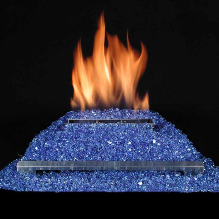Alterna Ventless FireGlitter Stainless Steel 20-Inch Burner Kit