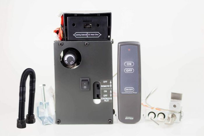 Skytech AFVK-SP Manual Hi/Lo Spark to Pilot Gas Valve Kit with On/Off Remote