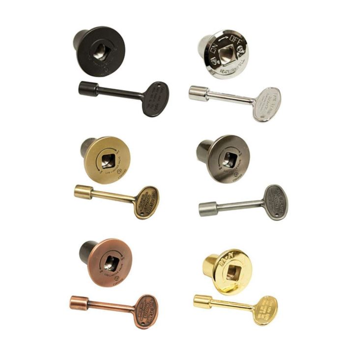 Hearth Products Controls Replacement Flange & Key