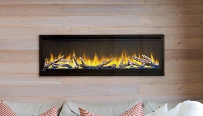 Napoleon NEFL60CHD Alluravision Deep Depth Linear Electric Fireplace, 60-inch