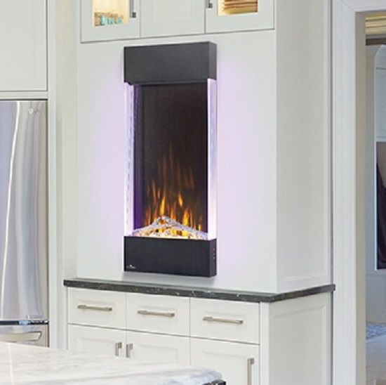 Napoleon NEFVC Allure Series Vertical Wall Mount/Built-In Electric Fireplace
