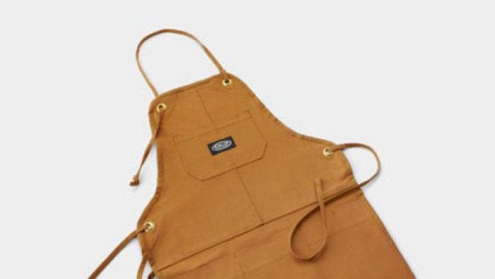 DCS AA-PADB Grill Apron, Duck Brown