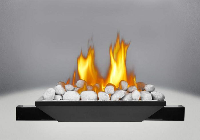Napoleon B81NS River Rock/Stone Configured Burner Assembly for HD81 Fireplaces