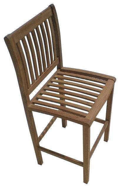 Royal Teak Collection BARC Classic Bar Chair