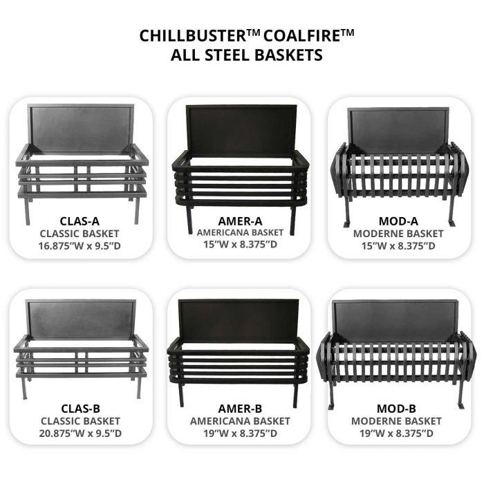 Rasmussen BASKET-C9 CoalFire All Steel Basket