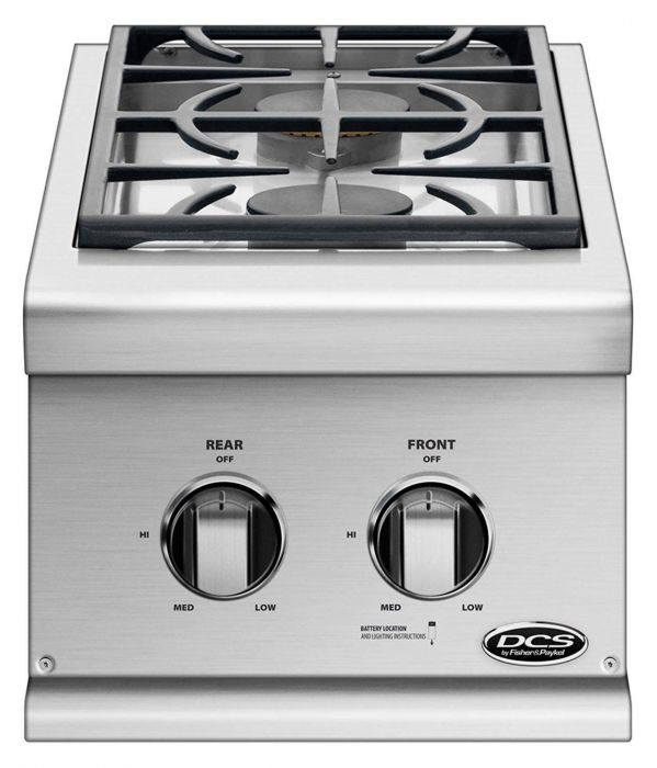 DCS Built-In Professional Double Side Burners