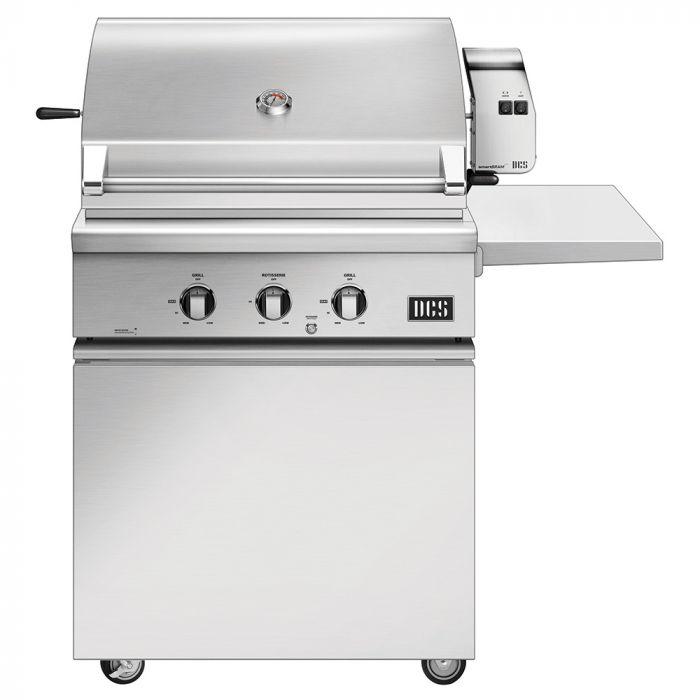 DCS BH1-30R-CSS-30 Traditional 30-Inch Gas Grill On CSS Cart with Rotisserie
