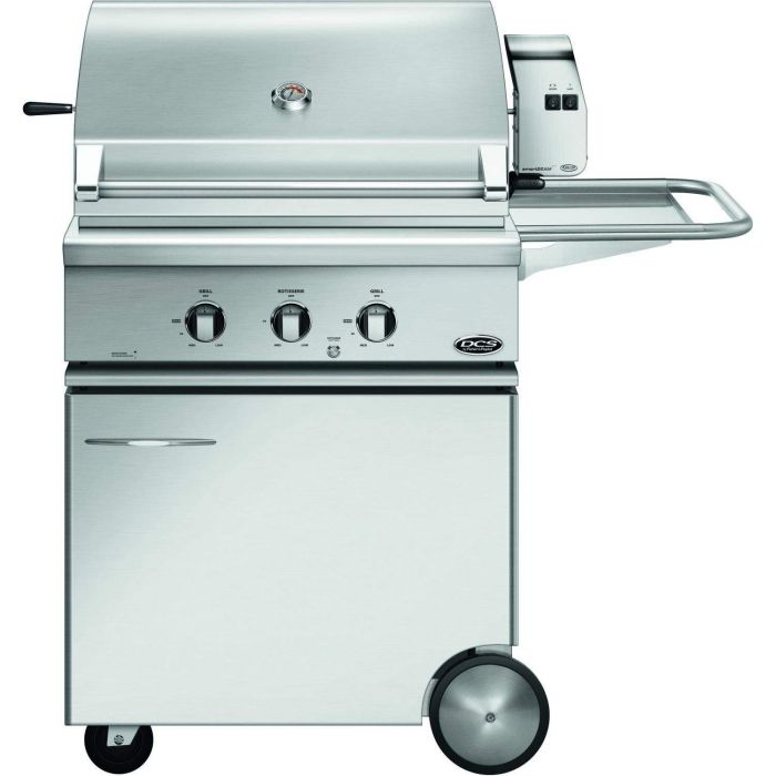 DCS Traditional 30-Inch Gas Grill On CSS Cart with Rotisserie