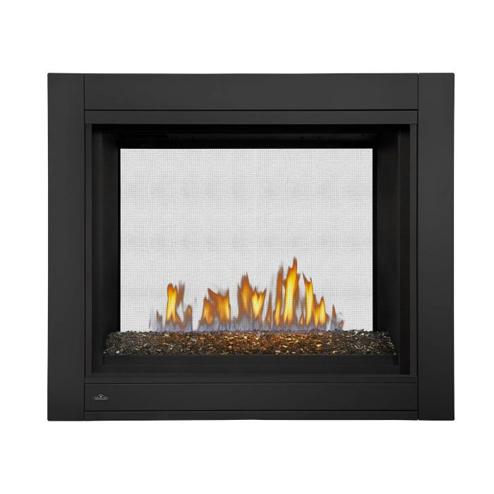 Napoleon BHD4ST Ascent Multi-View Series Electronic Ignition Double Sided Direct Vent Gas Fireplace