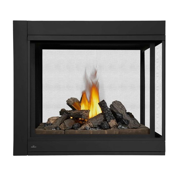 Napoleon BHD4P Ascent Multi-View Series Electronic Ignition Peninsula Direct Vent Gas Fireplace