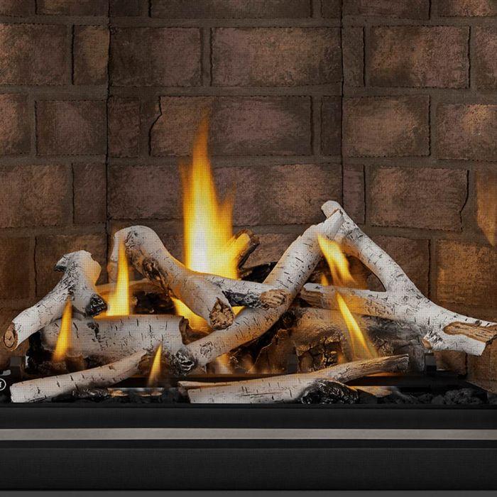 Napoleon BLKO36 Birch Log Set for 36-Inch Riverside Outdoor Gas Fireplace