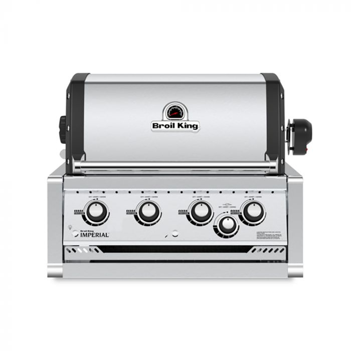 Broil King IMP-S470 Imperial S470 Stainless Steel 4-Burner Built-In Gas Grill Head, 31-Inches