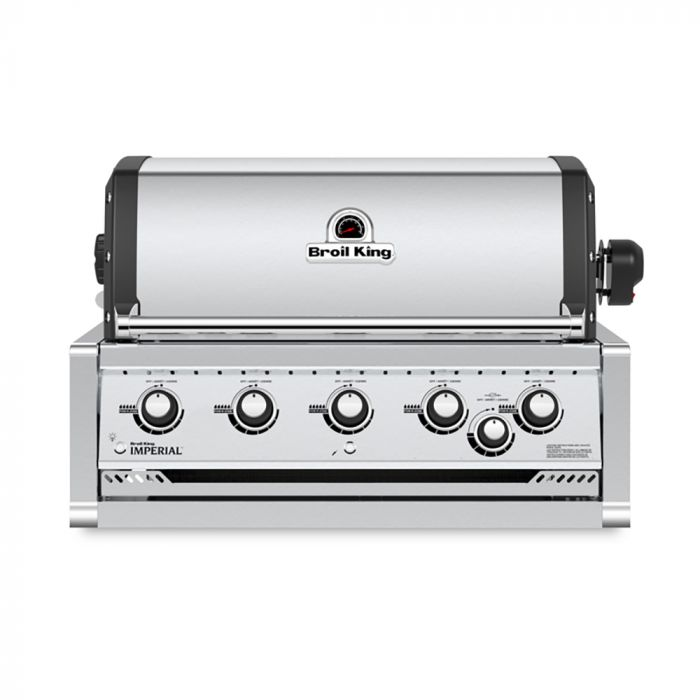 Broil King IMP-S570 Imperial S570 Stainless Steel 5-Burner Built-In Gas Grill Head, 37-Inches