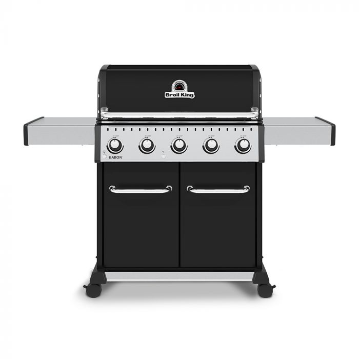 Broil King BR-520 Baron 520 Pro 5-Burner Gas Grill, 63-Inches
