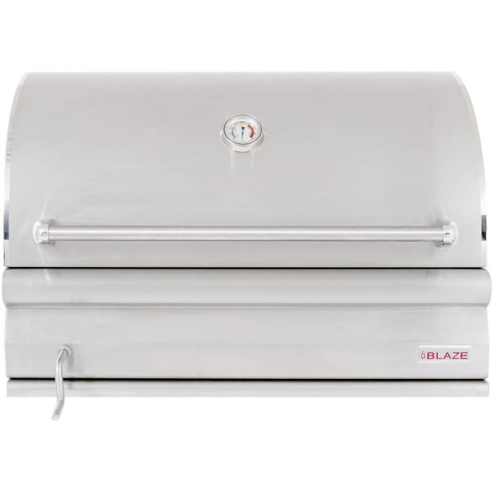 Blaze BLZ-4-CHAR Built-In Charcoal Grill with Adjustable Charcoal Tray, 32-inch
