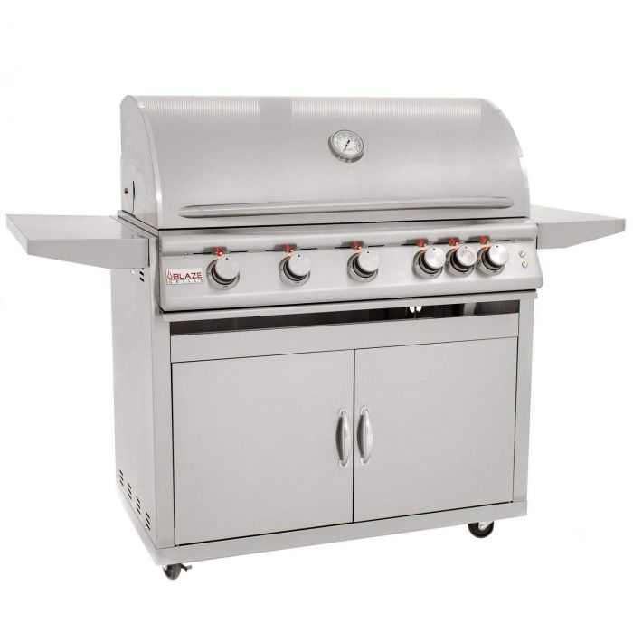 Blaze BLZ-5LTE2 Freestanding Gas Grill with Lights, 40-inch
