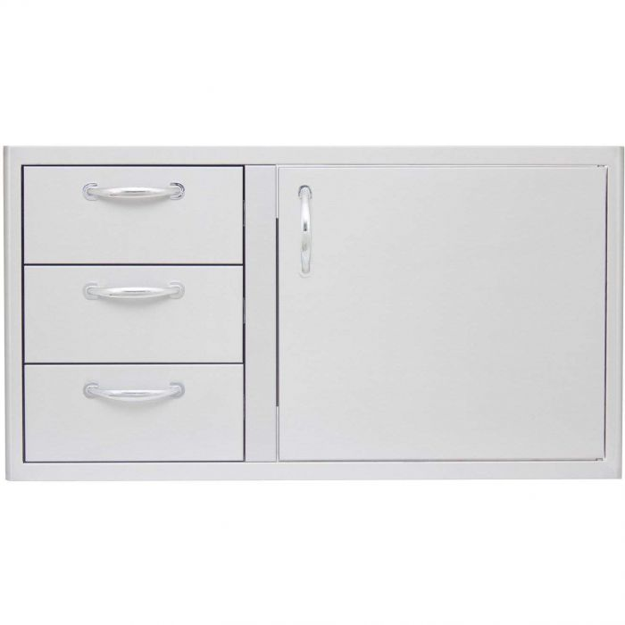 Blaze BLZ-DDC-39-R Access Door and Triple Drawer Combo, 39-inch
