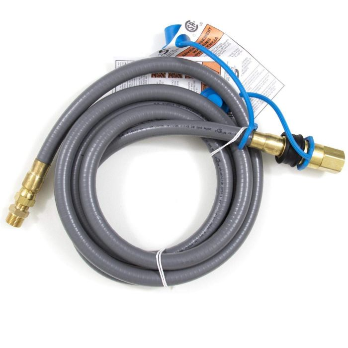 Blaze BLZ-NG-HOSE Natural Gas Hose and Quick Disconnect, 10-foot