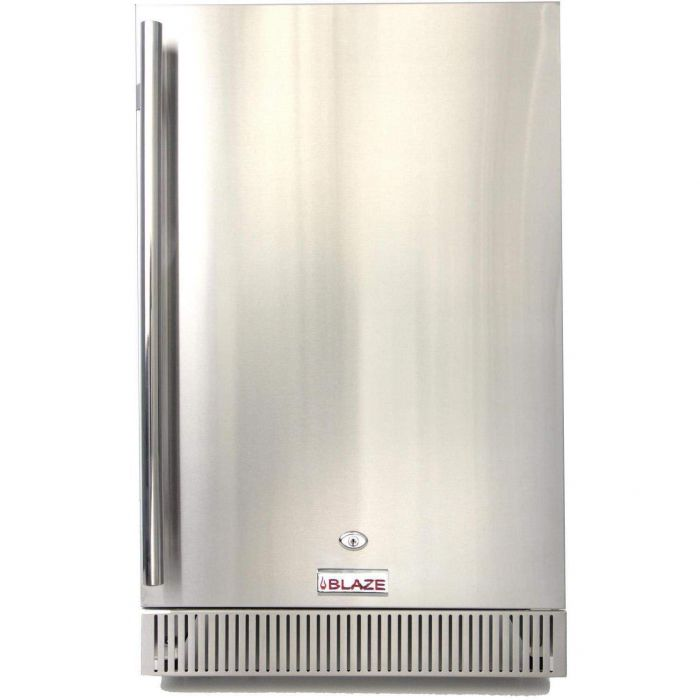 Blaze BLZ-SSRF-40DH Outdoor Rated Stainless Steel Refrigerator, 4.1 Cu Ft., 20-inches
