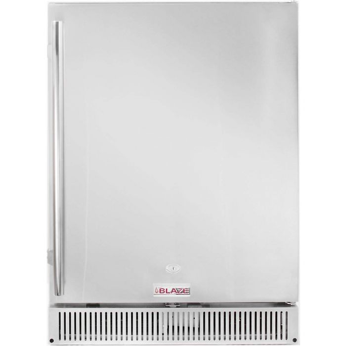 Blaze BLZ-SSRF-50DH Outdoor Rated Stainless Steel Refrigerator, 5.2 Cu Ft., 24-inches