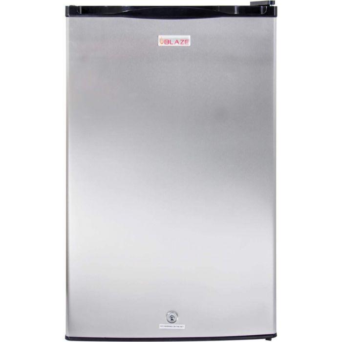 Blaze BLZ-SSRF130 Outdoor Stainless Steel Refrigerator, 4.5 Cu Ft, 20-inches