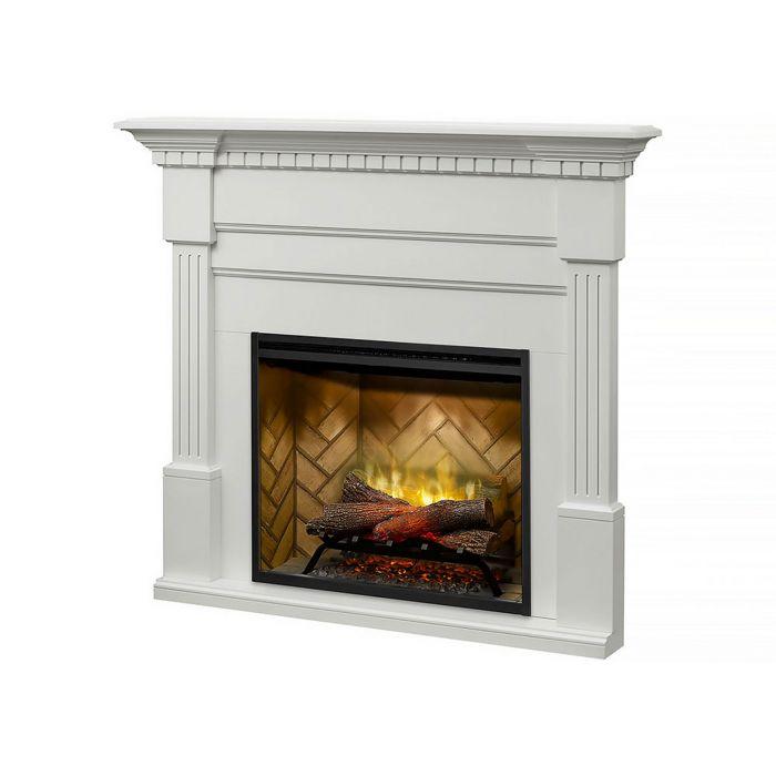 Dimplex BM3033-1801W Christina Buildrite Mantel, White