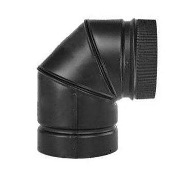 Napoleon BM6745 7-Inch 90 Degree Elbow for Gas Stoves, Case of 4