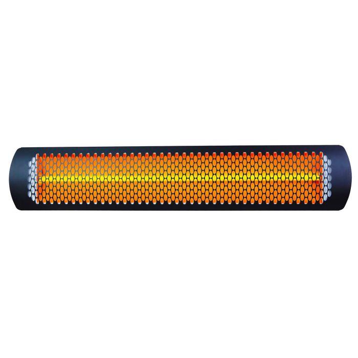 Bromic BR-ETNG Tungsten Smart-Heat Electric Heater, Black